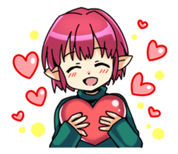Children's Elf sticker #3049518