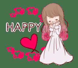 KAWAII PinkGirl sticker #3056511