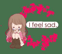 KAWAII PinkGirl sticker #3056517
