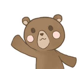 Me's bear sticker #3059742