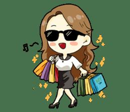 Luxurious working girl Stephanie sticker #3061355