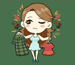 Luxurious working girl Stephanie sticker #3061356