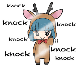 sikako-chan in Japan Nara-ken vol.2 sticker #3069953