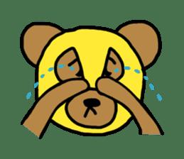 Bear & Rabbit wrestler sticker #3074367