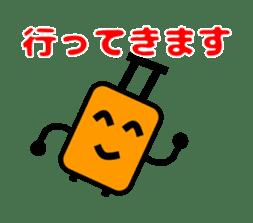 Mr. Suitcase sticker #3078117