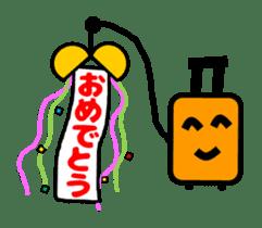Mr. Suitcase sticker #3078126