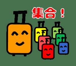 Mr. Suitcase sticker #3078132