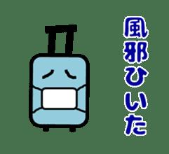 Mr. Suitcase sticker #3078134