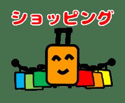 Mr. Suitcase sticker #3078136
