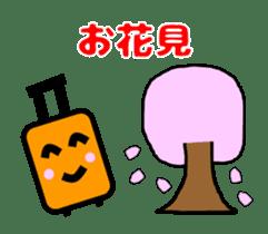 Mr. Suitcase sticker #3078151