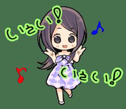 Minori Chihara sticker #3080947