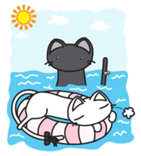Jasmine and Cosmos sticker #3085783