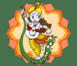 Little Vrindavan sticker #3089332
