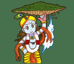 Little Vrindavan sticker #3089333