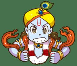 Little Vrindavan sticker #3089335
