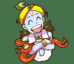 Little Vrindavan sticker #3089340