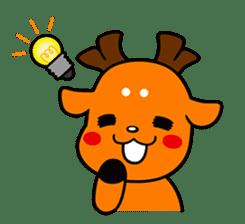 Shikamarokun sticker #3091428