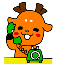 Shikamarokun sticker #3091429