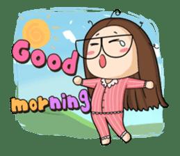 TuaGom :a little cute girl sticker #3116547