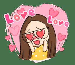 TuaGom :a little cute girl sticker #3116549