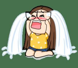 TuaGom :a little cute girl sticker #3116574