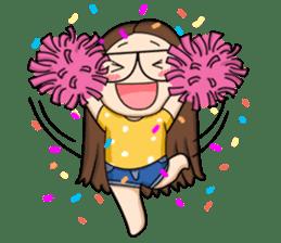 TuaGom :a little cute girl sticker #3116579