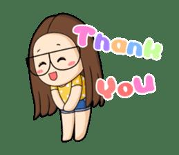 TuaGom :a little cute girl sticker #3116585