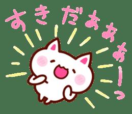 LOVE LOVE Cat Sticker sticker #3117911