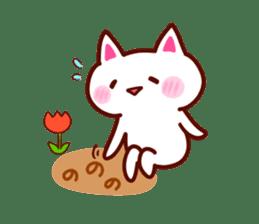 LOVE LOVE Cat Sticker sticker #3117914