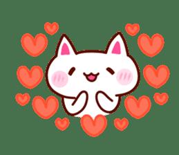 LOVE LOVE Cat Sticker sticker #3117926