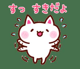 LOVE LOVE Cat Sticker sticker #3117928