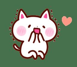 LOVE LOVE Cat Sticker sticker #3117933