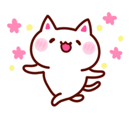 LOVE LOVE Cat Sticker sticker #3117934