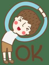 Friday a little boy sticker #3123032
