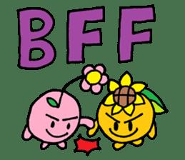 Hana & Sunny sticker #3126213