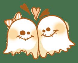 Little ghost! sticker #3128434