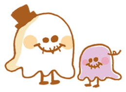 Little ghost! sticker #3128436