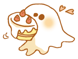 Little ghost! sticker #3128444