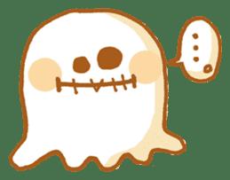 Little ghost! sticker #3128465
