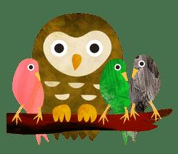 COLLAGE vol.1 -birds- sticker #3131129