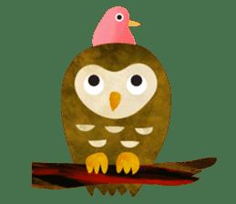 COLLAGE vol.1 -birds- sticker #3131130