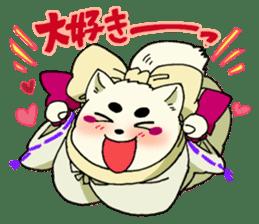 Gingitsune Gintaroh and Shinshi version sticker #3137516
