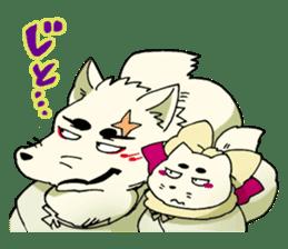 Gingitsune Gintaroh and Shinshi version sticker #3137520