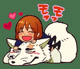 Gingitsune Gintaroh and Shinshi version sticker #3137533