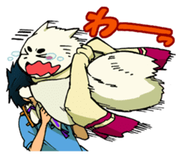 Gingitsune Gintaroh and Shinshi version sticker #3137534