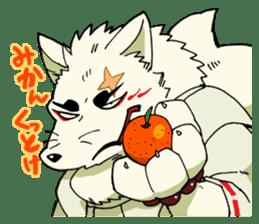 Gingitsune Gintaroh and Shinshi version sticker #3137538