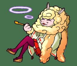 Gingitsune Gintaroh and Shinshi version sticker #3137548