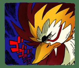 Gingitsune Gintaroh and Shinshi version sticker #3137549