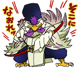 Gingitsune Gintaroh and Shinshi version sticker #3137550