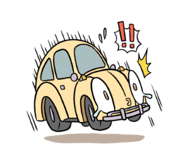 Aircooled mania (English) sticker #3137559